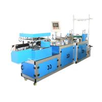 High Speed Automatic Plastic PE / Non woven Bouffant Cap Making Machine Manufactures