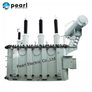 110kV 80MVA Power Transformer With  Oil Tank / Power Step Down Transformer Manufactures