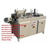 Notebook punching machine SPA 320 Manufactures