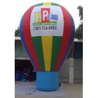 Colored Inflatable Advertising Products Earth Fall Festival Venue Layout Manufactures