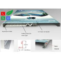 Quality Ultra Thin Fabric LED Light Box , Folding LED Panel Light Box Frame For Store for sale