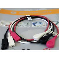 1M Length Patient Monitor Accessories , Monitor Connector Cable Solid Conductor Manufactures