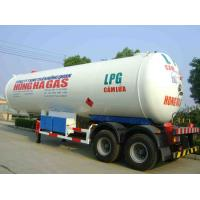 CLW brand LPG gfas tank semi-trailer with sunshield for sale, double BPW/FUWA  axles lpg gas propane trailer for sale Manufactures