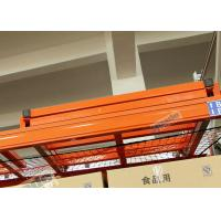 Customized Warehouse Storage Racks Push Back Pallet Racking Heavy Duty Manufactures