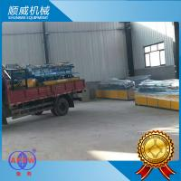 5.5KW Power Chain Link Fence Equipment Knuckle Edge Edge Lock Method Manufactures