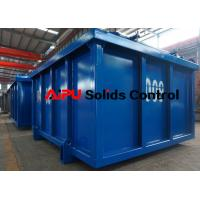 High quality DNV certified cuttings boxes at Aipu solids control for sale Manufactures