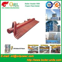 High Pressure CFB Boiler Header Steam Boiler Header with ASME Manufactures