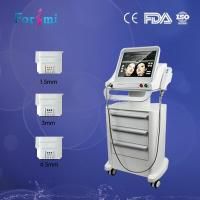 HIFU Skin Tightening Machine with 3 hifu transducer for face lifting Manufactures