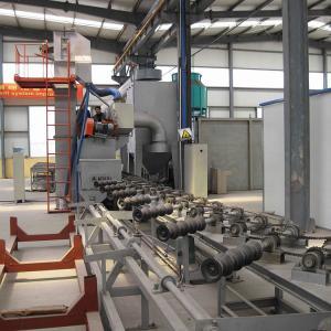 CE Surface Dustless 2x15KW Steel Pipe Shot Blasting Machine Manufactures