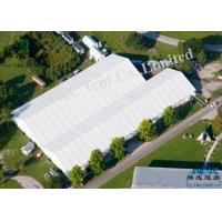 Outdoor Marketing Big Event Tents For Trade Show With Light Frame Steel Structure Manufactures
