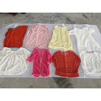 The used summer clothing including the net blouse for export to the world with the competitive price and good quality Manufactures