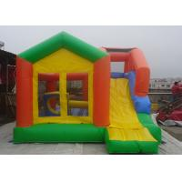 Castle Type Inflatable Jumping Castle With Slide For kids Outdoor Amusement Park Manufactures