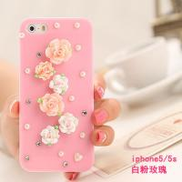 Fashion hot sell customized China style diamond set iphone case & bags for Apple iphone Manufactures