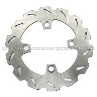 High Performance Rear Brake Discs Heat treatment Quad Bike Spare Parts Manufactures