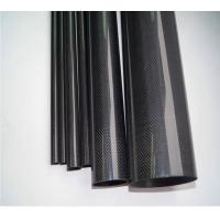 high quality of glossy fished 3k carbon fiber tubing Manufactures