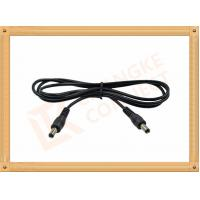 12V DC Male to Male Custom Cable Assembly DC 5.5X2.1 mm Power Cable Manufactures