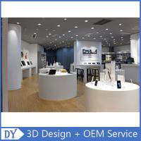 Customized design store display furniture,mobile phone store furniture with shop counter design Manufactures