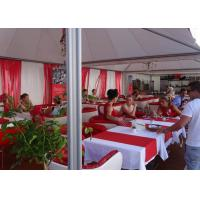 6x6m Chinese Hat Gazebo Aluminum Pvc Pogoda Tent With Clear Span For Outdoor Event Manufactures
