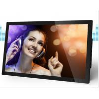 ABS Plastic Housing LCD Digital Photo Frame 21.5 Inch Big Size For Advertising Manufactures