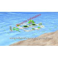 Advertising Inflatable World Water Parks, Ocean Aqua Park Games 0.9mm PVC Manufactures