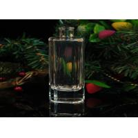 208ml Recycled Transaprent Empty Perfume Bottles With Atomizer Manufactures