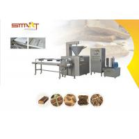 Smart Protein Bar Making Machine , 100kg/Hr Energy Bar Manufacturing Equipment Manufactures