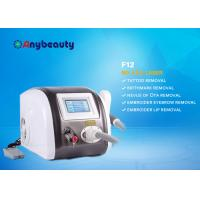 Portable Q Switched Nd Yag Laser Tattoo Removal Machine Color Touch Screen CE Approved Manufactures
