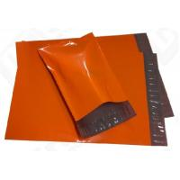 Quality Printing Packaging Poly Bags , Purple Plastic Poly Mailer Bag for sale