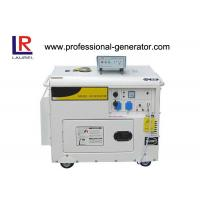 Portable Single phase 2 - 5kw Electric Power Generator Diesel Generator with 10HP Engine Manufactures