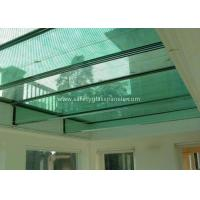 12mm Tempered Laminated Glass Panels Fire Proof Guard Against Theft Manufactures