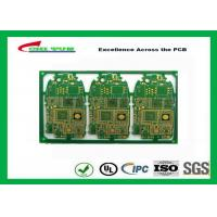HDI 6L FR4 1mm Immersion Gold PCB Engineering for Cell Phone / Mobile Phone Manufactures
