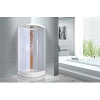 Quality KPN52036 Curved Corner Shower Units , 900 x 900 x 2150mm Glass Shower Cabin for sale