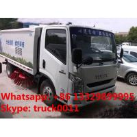 high quality and best price IVECO yuejin brand road sweeper truck for sale, hot sale YUEJIN brand road sweeper truck Manufactures