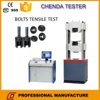 1000kn Hydraulic Universal Testing Machine +Steel  Tensile Strength Testing Machine+Bolt Shear Strength Testing Machine Manufactures