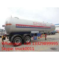 BPW 2 axles road transported propane gas storage tank for sale, high quality and best price lpg gas trailer for sale Manufactures