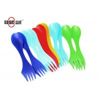 Multifunctional 18CM Spoon Fork Knife In One PP / ABS Material Food Grade Manufactures
