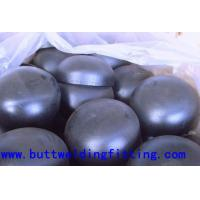 Butt welding fittings / Stainless Steel Pipe Cap for Construction A403-WP304 Manufactures