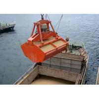 Marine Radio Remote Control Grab , Red Color Hydraulic Clamshell Grab Manufactures
