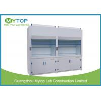 6 Ft Non Steel PP Laboratory Fume Hood For Chemical Harmful Gas Ventilation Manufactures