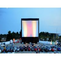 Customized Inflatable Movie Screen For Personal Guarden ,Grassland , Outdoor Show Manufactures