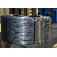 "0.068 "" High Carbon Patented Wire Flatten to 0.028 "" Brush Steel Wire Rod C1045 - 1060 Manufactures"