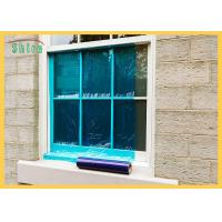 Blue Window Wrap During Construction Clear Window Glass Protection Film Resistant To 6 Months UV Manufactures