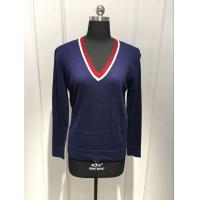 Anti Pilling Women'S Pullover Sweater Tight OEM / ODM Available Manufactures
