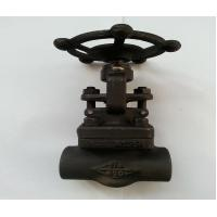 A105 API Forged Steel Gate Valve With SW Threaded Flange End ,150LB - 1500LB Manufactures