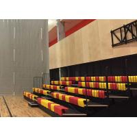 Buy cheap Spectator Telescopic Arena Stage Seating with Optional Seat Color from wholesalers