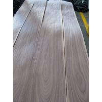 China Sliced Natural American Walnut Wood Veneer Sheet on sale