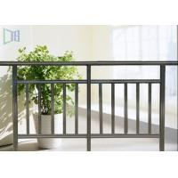 Interior Economic Aluminium Outdoor Stair Handrail Rectangle Tube Balustrade Manufactures