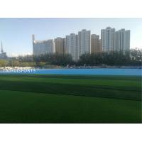 Double-Sided Slotted Customized Thickness Shock Pad Water Proof Underlay For Artificial Grass Of Multiple Purpose