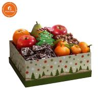 China Fruit Food Packing Boxes Glossy Or Matte Lamination Easy Take Along on sale