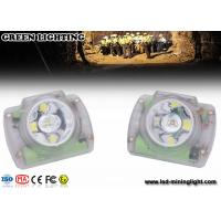Buy cheap Cordless Rechargeable Mining Headlamps Cree Led , Coal Miners Helmet Light Explosion Proof from wholesalers